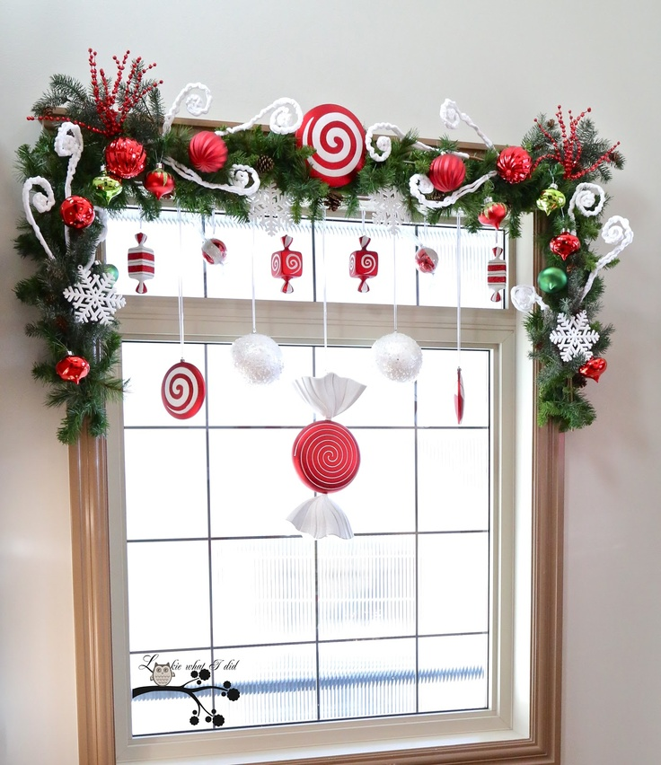 Christmas Decorations For Home Windows: Great Ideas For Christmas Window Decor
